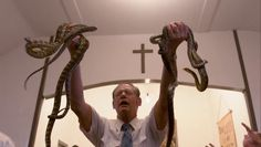 pentecostal church snakes