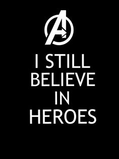 I still believe in the antiheroes