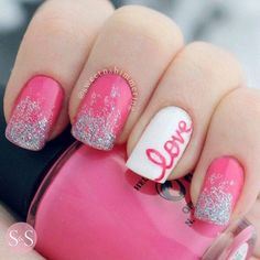 28 Best Valentine Day Nail Art Designs Images On Pinterest Nail