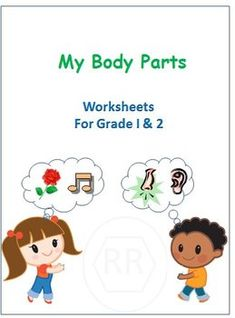 These worksheets are tailored for Grade 1 and Grade 2 kids. It can also used for Kindergarten to introduce the Sense Organs. It's a set of 7 worksheets covering the following 1. Body Parts Labelling2. Face Parts Labelling3. Body Parts Crossword4. Guess the Body Part5.