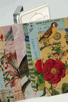 Cavallini Flora and Fauna Vintage Postcards - 18 cards