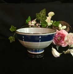 Antique Chinese celadon porcelain rare bowl by CoCoBlueTreasures