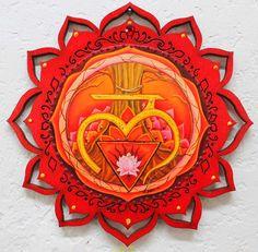 Healing art Muladhara First Chakra Root Chakra by LoriFelixArtwork