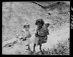 • Bayamon, Puerto Rico. Children in a backyard by Delano, Jack, photographer • Date: 1941