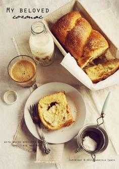 cozonac aka sweet bread Romanian style