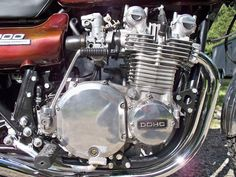 Photograph courtesy of Mike Coogan. Kawasaki 500, Crotch Rockets, Motorcycle Engine, Mechanical Engineering, Cafe Racers, Cars And Motorcycles, Motorbikes, Old School, Transportation