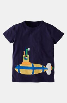 Mini Boden 'Vehicle' T-Shirt (Toddler, Little Boys & Big Boys)