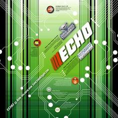 Echo - Cartelería interior by Gabriel Benatar, via Behance