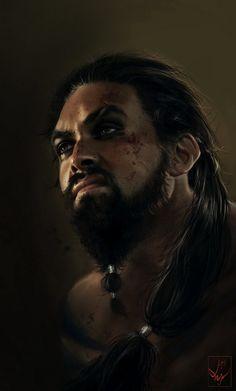 Khal Drogo by AniaEm