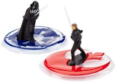 Dekoback Set Decorazioni per Torte Star Wars Darth Vader vs. Star Wars Party, Star Wars Birthday Cake, Birthday Cake Toppers, Star Wars Cupcake Toppers, Star Wars Cupcakes, Edible Cake Toppers, Star Wars Darth Vader, Darth Vader Figure, Luke Skywalker