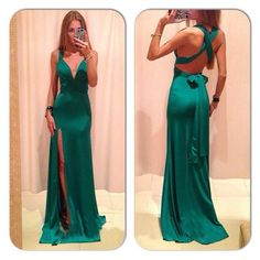 Ed362 Charming Evening Dress,Satin Evening Dress,Backless Evening Dress,Mermaid Prom Dress