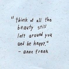 Inspirational quotes from Anne Frank
