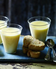 Three simple ingredients is all it takes to make a zingy, refreshing lemon posset
