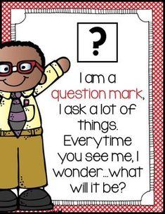 Teaching Punctuation, Punctuation Posters, Teaching Writing, 2nd Grade Ela, Grade 1, Kindergarten Classroom, Classroom Decor, Writing Anchor Charts, Rhymes Songs