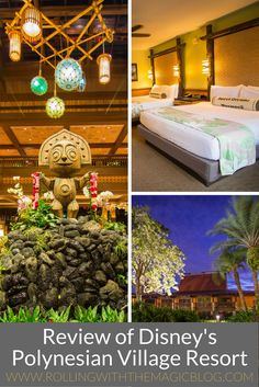 Review of Disney's Polynesian Village Resort at Walt Disney World   Rolling with the Magic
