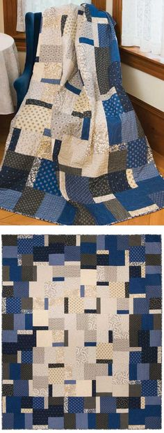 Really Dylan Quilt    70 x 84  Sue Pickering