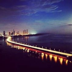 Panama City, Southern Causeway (Corredor Sur)