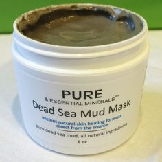 Pure & Essential Minerals Dead Sea Mud Mask Review #deadseafacial