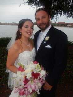 I officiated the wedding of Kevin Anselm and Marie Hernandez at the Walt Disney World Wedding Pavilion.   The couple resides in Loxanatchee, Florida.