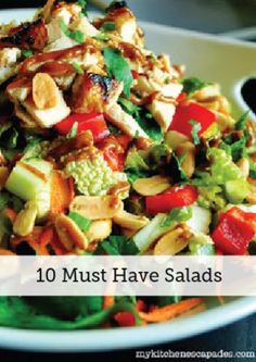 Different types of salads recipes - Food salad recipes