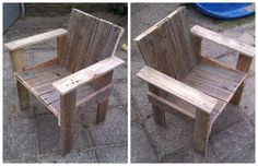 I've made one little chair for my son and daughter (3 & 1 yrs old). Of course, it is made …