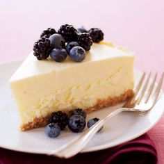 Healthy Makeover: Cheesecake -- As we lightened up this Big Apple classic, we decided on a new motto: If we can fake cheesecake here, we can fake it anywhere.