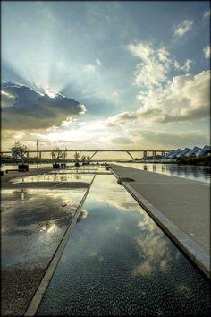 Coucher de soleil à Martigues
