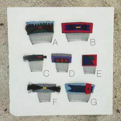 Ship & Shape Little Ditty Hair Combs
