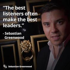 Good Leaders Listen Keep Ideas Current sebastian greenwood truth video sebastian greenwood truth onecoin sebastian greenwood truth one coin news cryptocurrency leadership cryptocurrency