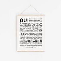 Amour Archives - Les mots à l'affiche Oui, Letter Board, Wish, Messages, Lettering, Books, Phrases, Raven, Hamburger
