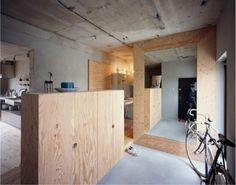 setagaya flat by naruse inokuma architects + hiroko karibe architects.