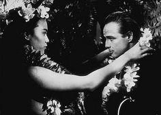 """Mutiny on the Bounty"" Marlon Brando, Tarita Marlon Brando, Nebraska, Tahiti Nui, Mutiny On The Bounty, Junior, Old Hollywood, Picture Photo, Actors, Movies"