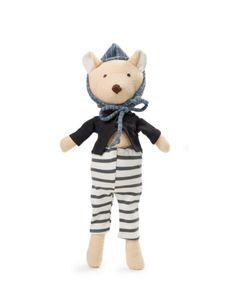 Hazel Village Nicholas Winter Bear Cub Doll                             Noble Carriage