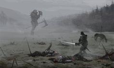Mutant Knight by Jakub Rozalski