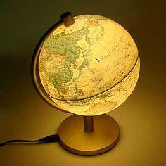 ライティング地球儀アンティーク