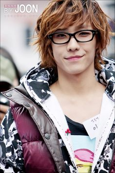 Lee Joon. I like the glasses, hair style and color, and jackets.