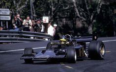 1973. Ronnie Peterson_2. Lotus - Ford Cosworth 72E.