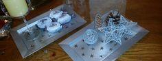Bandejas decorativas para navidad