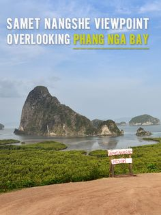Samet Nangshe Viewpoint Overlooking Phang Nga Bay
