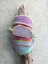 Sparkly Druzy Wrap Bracelet (Hawaiian)