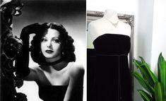 Old Hollywood Dress, Old Hollywood Glamour, Ball Dresses, Prom Dresses, Vintage Ball Gowns, Bodice, Neckline, Ball Gowns Evening, Black Velvet Dress