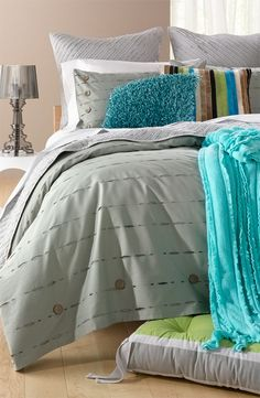 Nordstrom at Home 'Button Holes' Duvet Cover