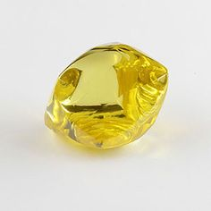Yellow diamond of carat is the largest fancy-colored diamond extracted by ALROSA this year. The precious stone was found on Ebelyakh alluvial deposit, north-east of the Sakha Republic (Yakutia) Minerals And Gemstones, Crystals Minerals, Rocks And Minerals, Stones And Crystals, Gem Stones, Beautiful Rocks, Mineral Stone, Rocks And Gems, Colored Diamonds