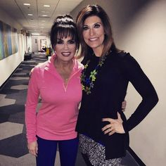 Marie Osmond and Debbie Wright at QVC