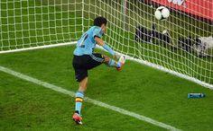 Gol de Navas Euro2012 Croacia-España