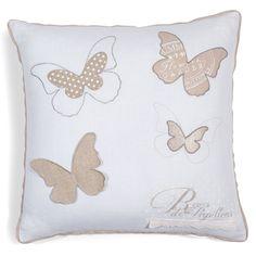 Kissenbezug Butterfly Patch