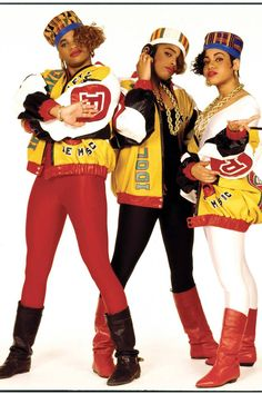 JANETTE BECKMAN - Salt-n-Pepa in NYC, 1987