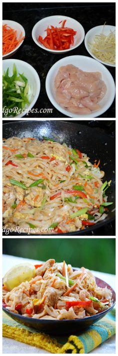 Easy to make Pad Thai- DELISH!!!