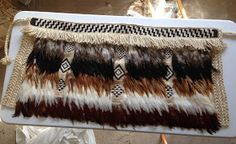 Robin Weaves Korowai Row By Row, Weaving Techniques, Casket, Cloak, Robin, Feather, Embroidery, Projects, Gifts