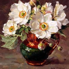 Still Life with Opening Roses-